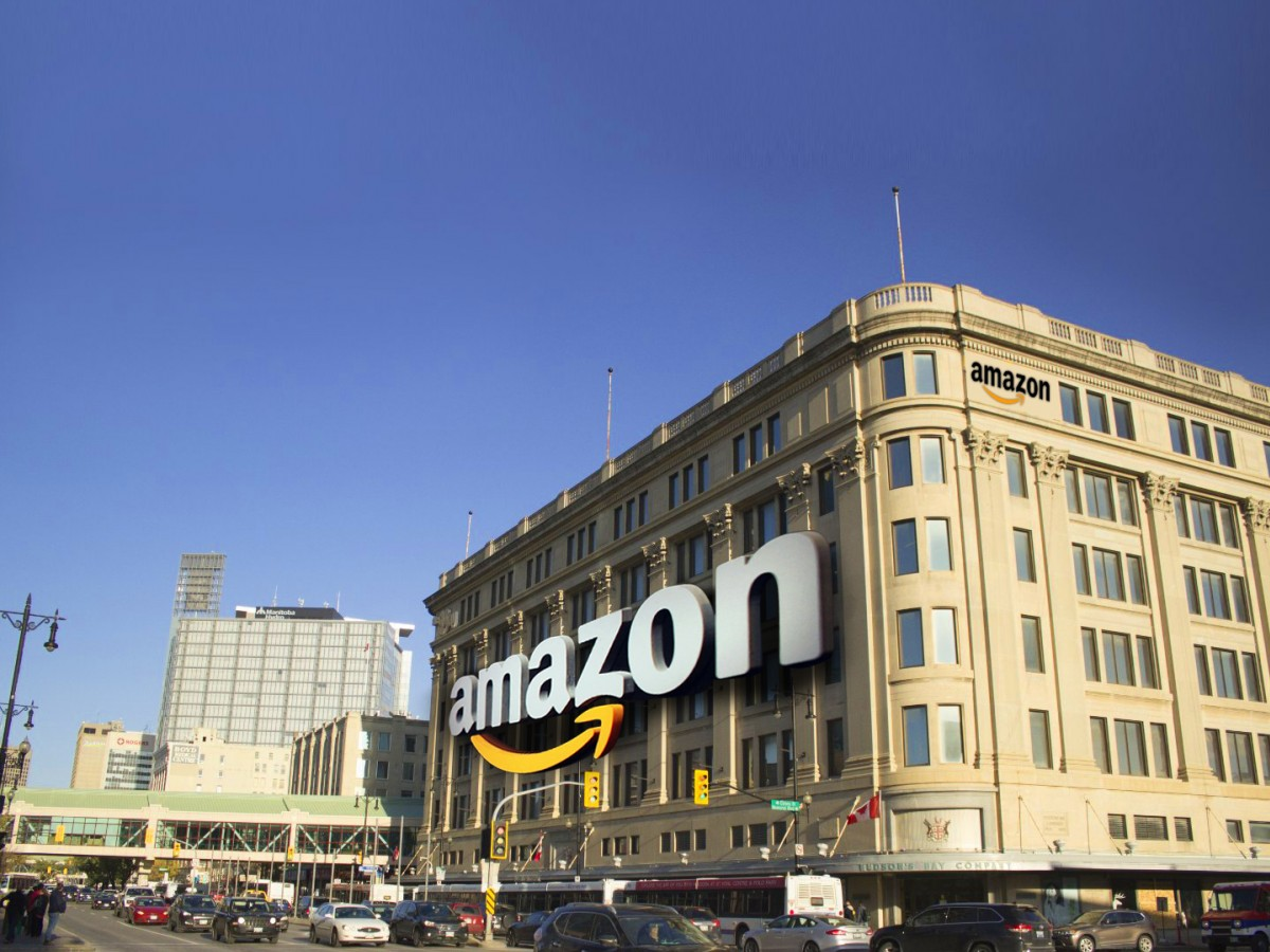 The Winnipeg advantage: Two world-class sites for Amazon HQ2 - The Bay building is part of a proposed downtown Winnipeg Amazon campus.