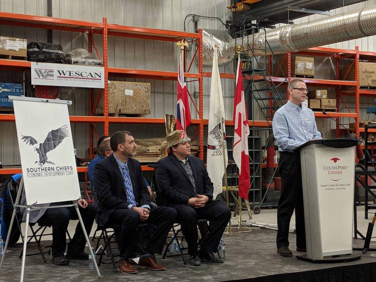 ​Creating pathways for indigenous engagement at North America's largest inland port - Doug Devlin, CN Senior Manager Aboriginal and Tribal Relations announces CN engagement with Working Warriors to support national hiring strategy