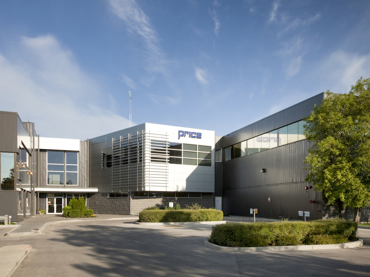 10 things you should know about Winnipeg's Price Industries - Price Industries' headquarters in northeast Winnipeg.
