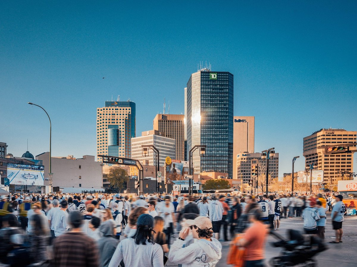 Year in Review: Winnipeg's biggest successes from 2018 - Winnipeg had a lot of reasons to celebrate in 2018, including at the Winnipeg Whiteout Street Parties. (Photo by Simon Liao)
