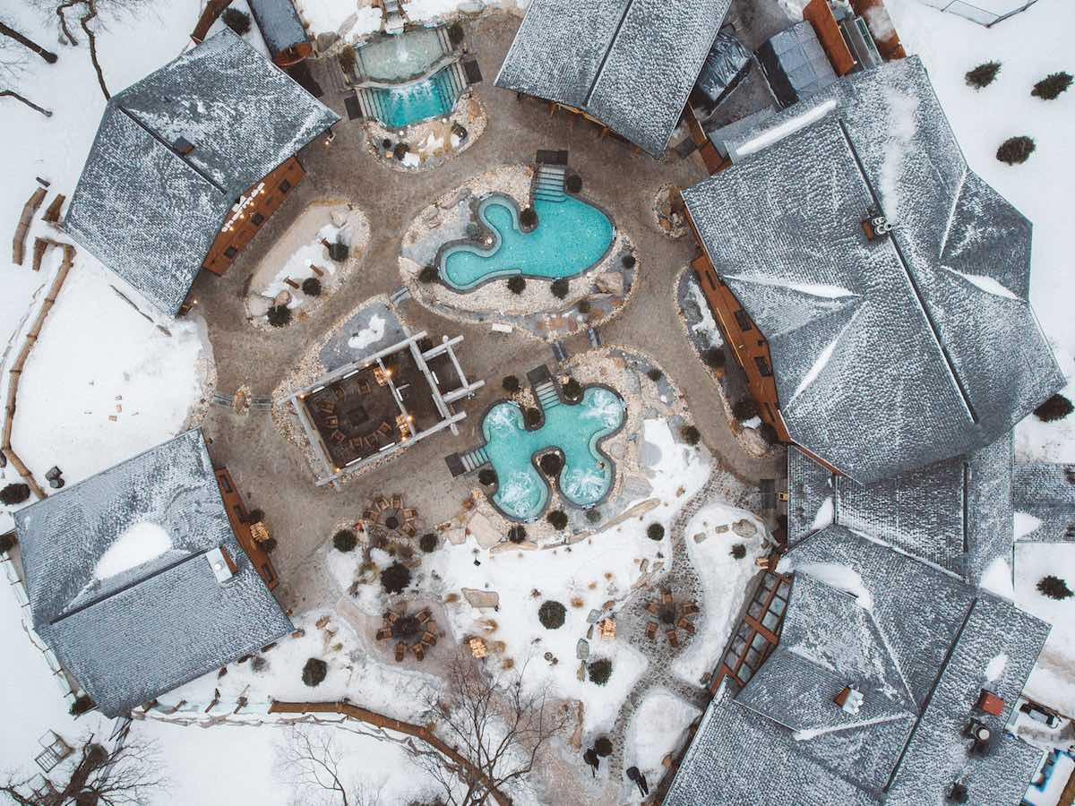 These industry-leading companies are owning winter in Winnipeg  - Winnipeg winter provides the perfect hot and cold experience at Thermëa by Nordik-Spa Nature. (Mike Peters photo)