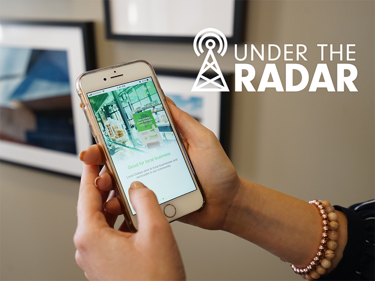 Under the Radar: The Local Frequency - The Local Frequency is an innovative app that encourages customers to spend their dollars locally.