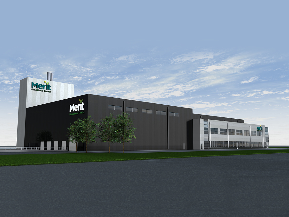 Protein innovation is in the DNA of Winnipeg's Merit Functional Foods  - Merit's new 94,000 square foot processing facility is expected to be completed by the fourth quarter of 2020 (Rendering)