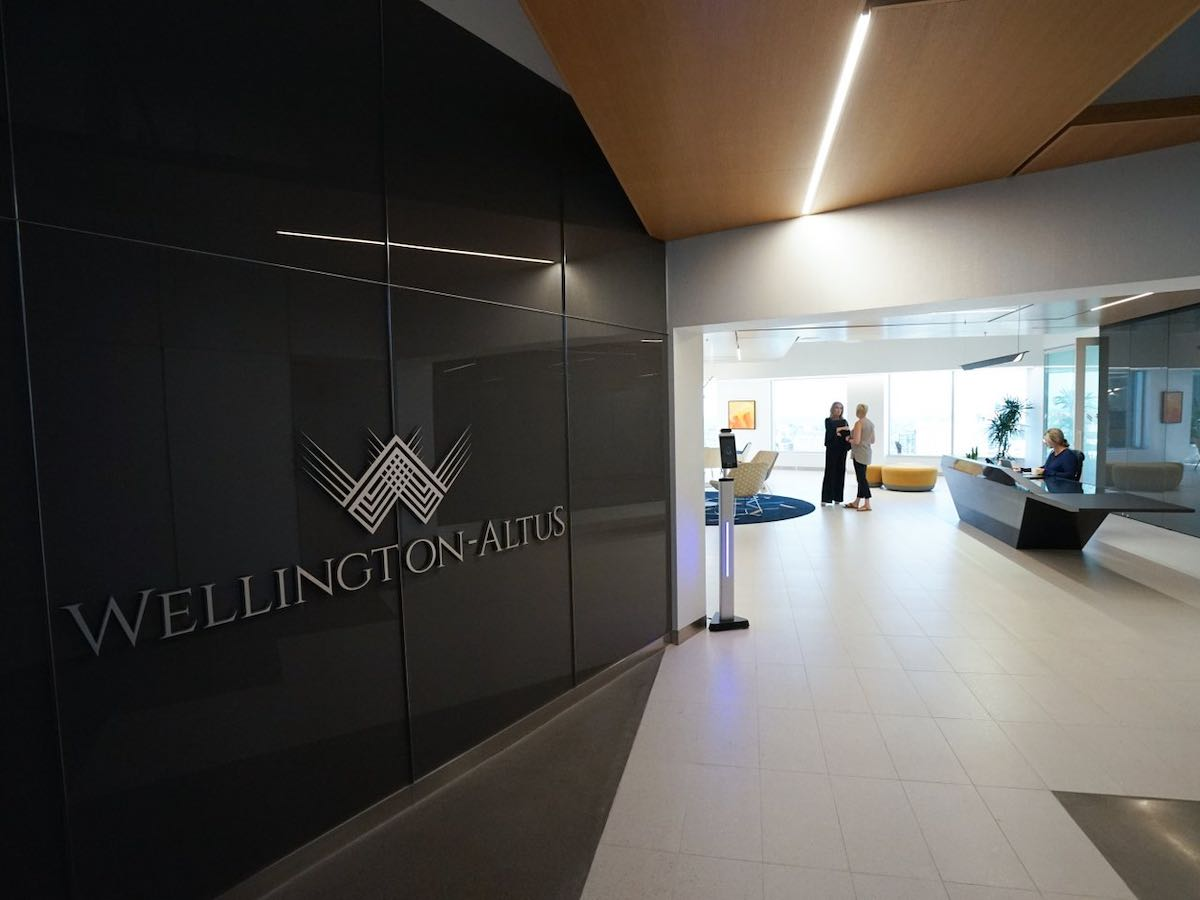 Wellington-Altus opens new world-class headquarters in Winnipeg - Wellington-Altus' new headquarters is located at Winnipeg's iconic Portage and Main (Tyler Walsh / EDW)