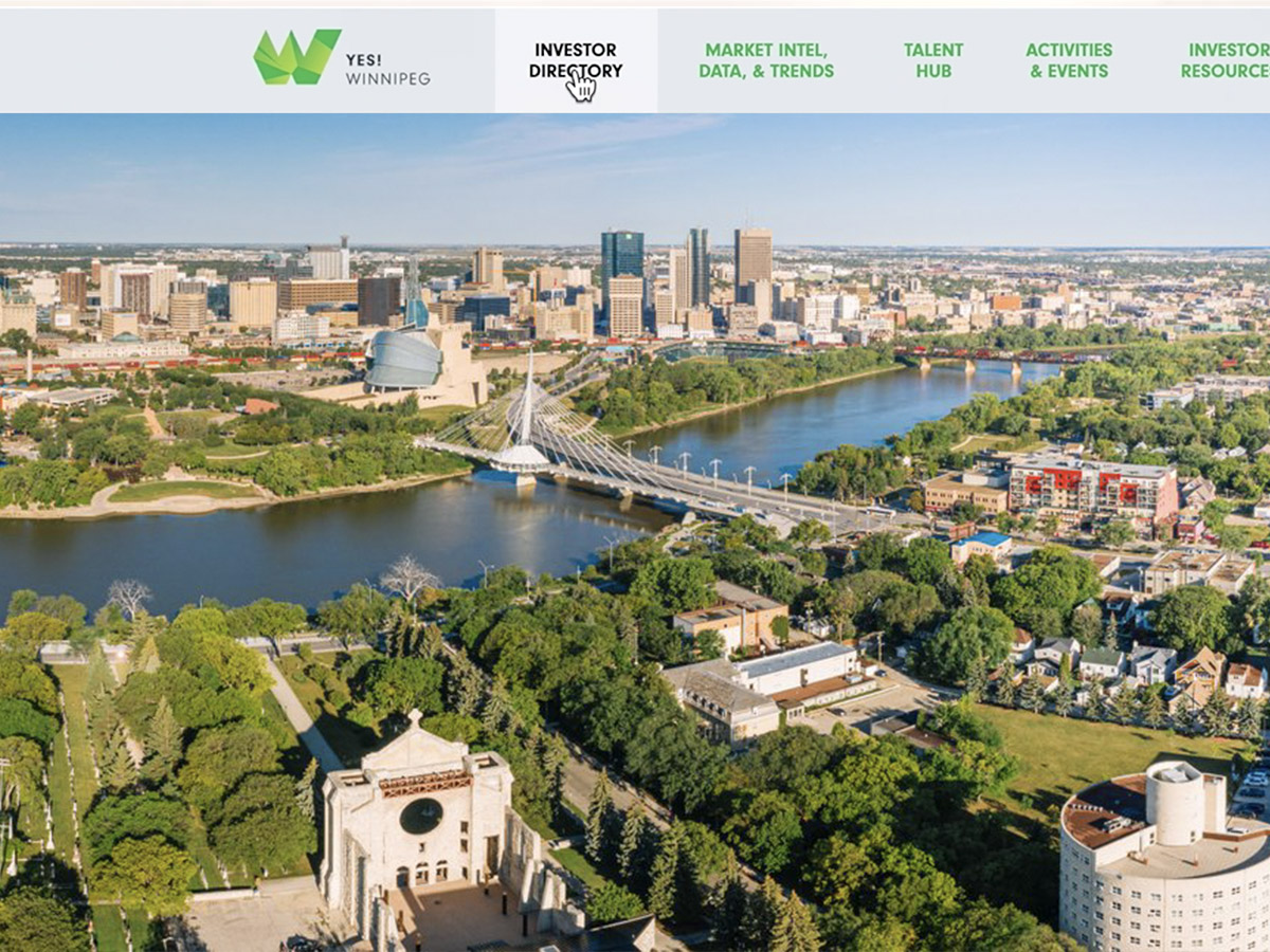 ​Introducing the new YES! Winnipeg Investor Portal  -