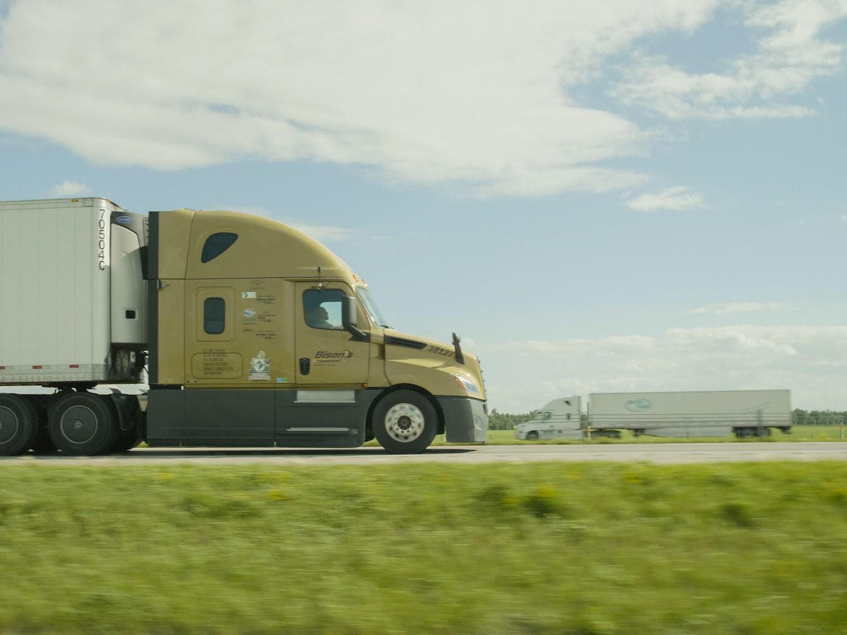 Manitoba's trucking industry drives our economy forward - Manitoba's trucking companies and drivers have kept goods flowing throughout the pandemic. (Bison Transport)
