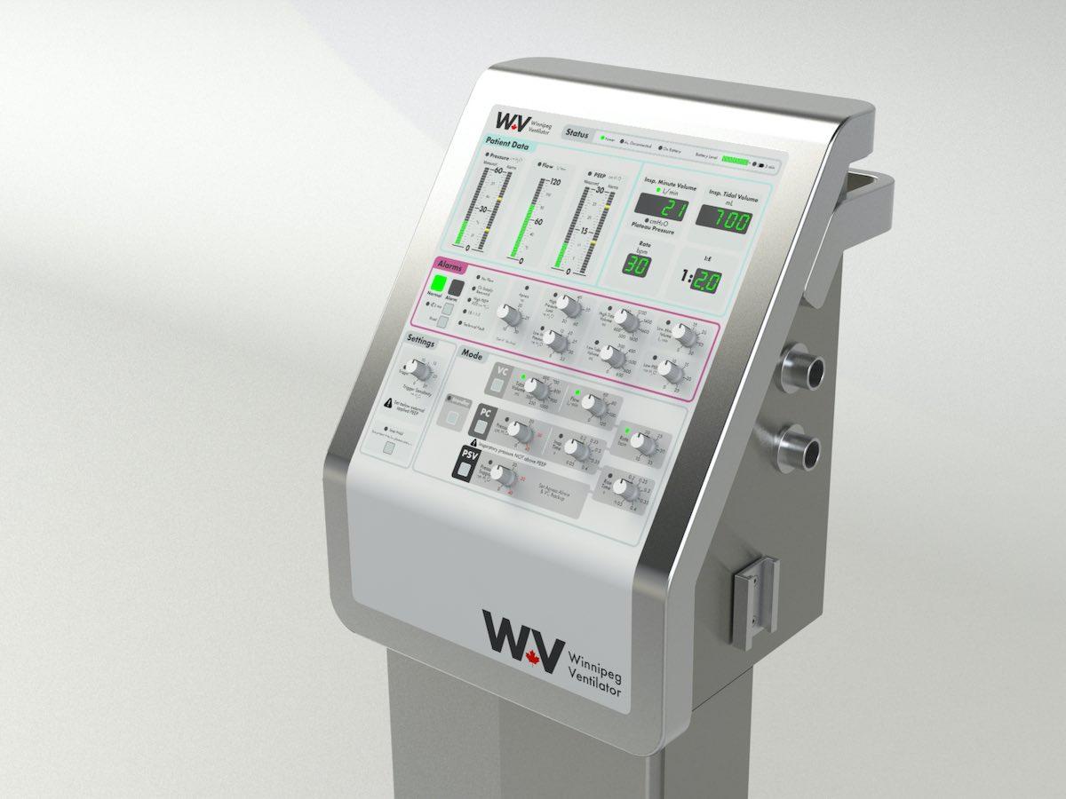 Winnipeg Ventilator aims to help those fighting COVID-19 breathe easy - Winnipeg Ventilator was originally created in the early 1990s (Winnipeg Ventilator)