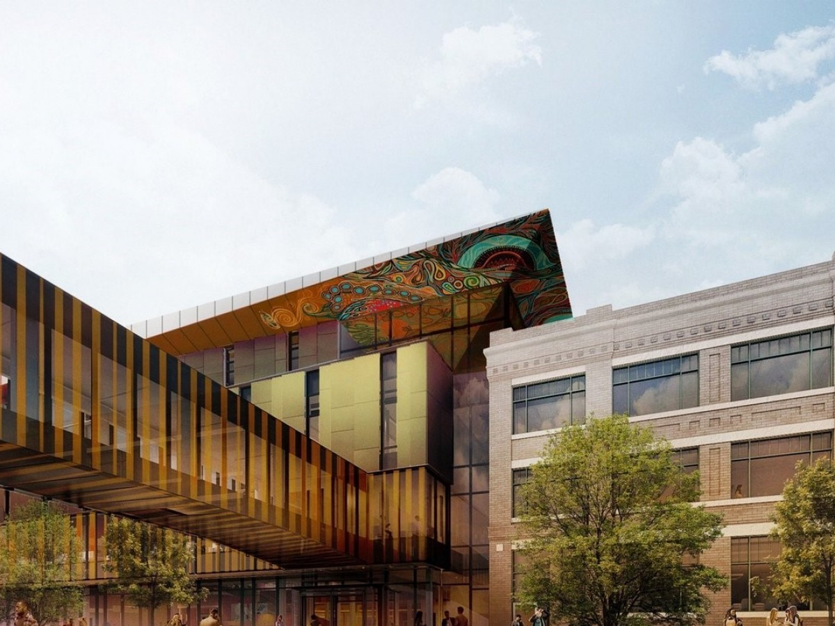 The science and beauty behind RRC's Innovation Centre  - Artist rendering: Diamond Schmitt Architects