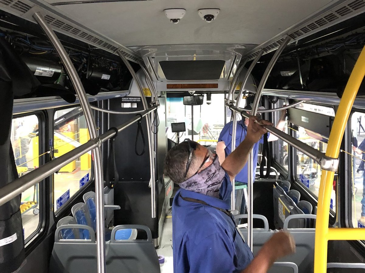 Change is in the air for bus safety  - NFI Group adapted quickly during the pandemic to offer options to keep buses or coaches safe. Photo: NFI Group