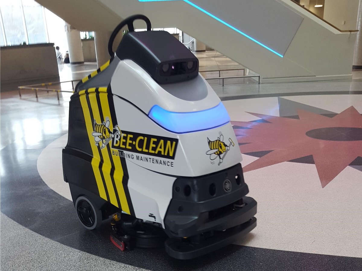 ​The buzz in the business of clean - Bee-Clean will be one of the first janitorial companies in Canada to test and use a commercial robot vacuum