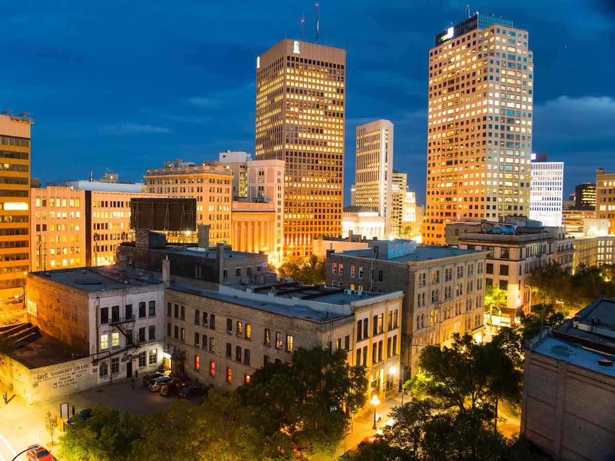 21 reasons Winnipeg is one of the world's smartest communities in 2021 - Winnipeg's Exchange District is a growing tech hub (Dan Harper photo)
