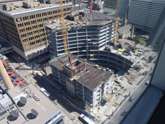 Winnipeg's True North Square taking shape