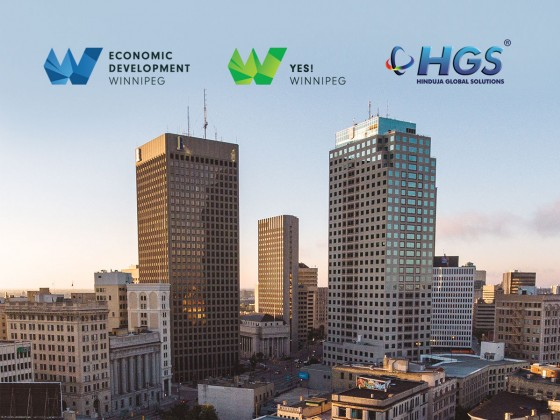 Welcome to Winnipeg: Hinduja Global Solutions