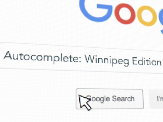 Autocomplete: Winnipeg Edition