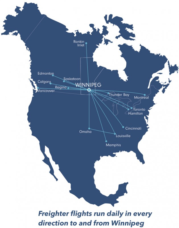 The Winnipeg advantage: A transportation hub in the heart of