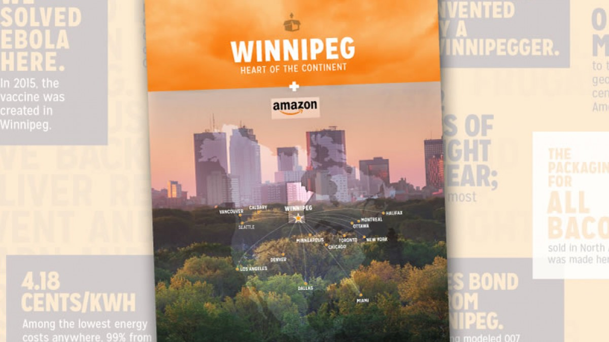 ​Amazon bid highlights Winnipeg advantage