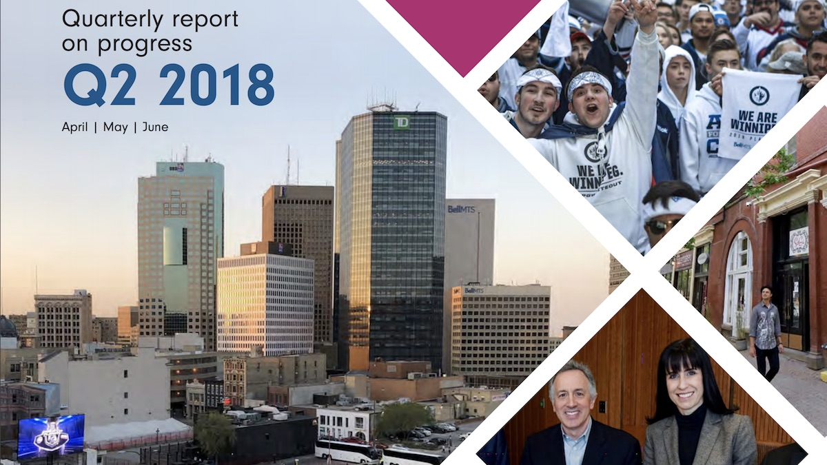 Economic Development Winnipeg Q2 2018 Progress Report