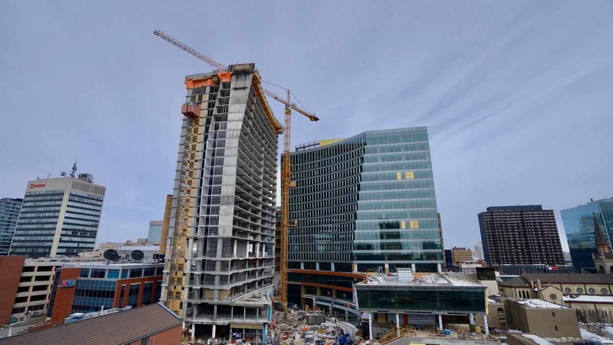 Winnipeg balanced on four pillars of real estate