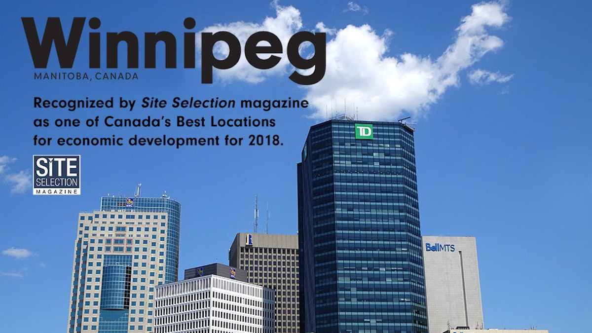 ​Winnipeg named one of
