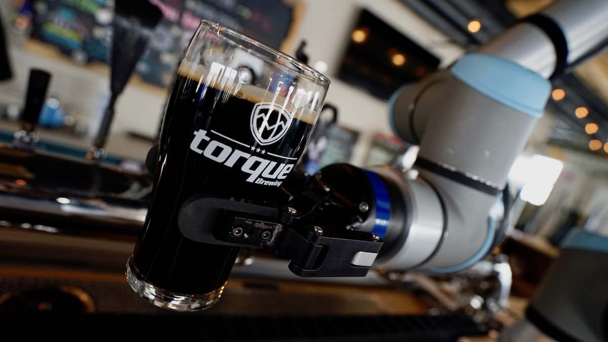 Robots serving beer: Showcasing the potential of robotics and automation