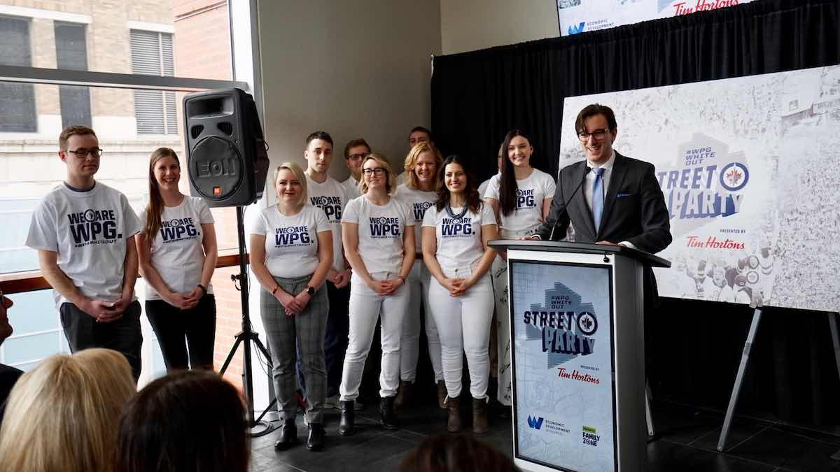 #WPGWhiteout Street Parties ready for takeoff