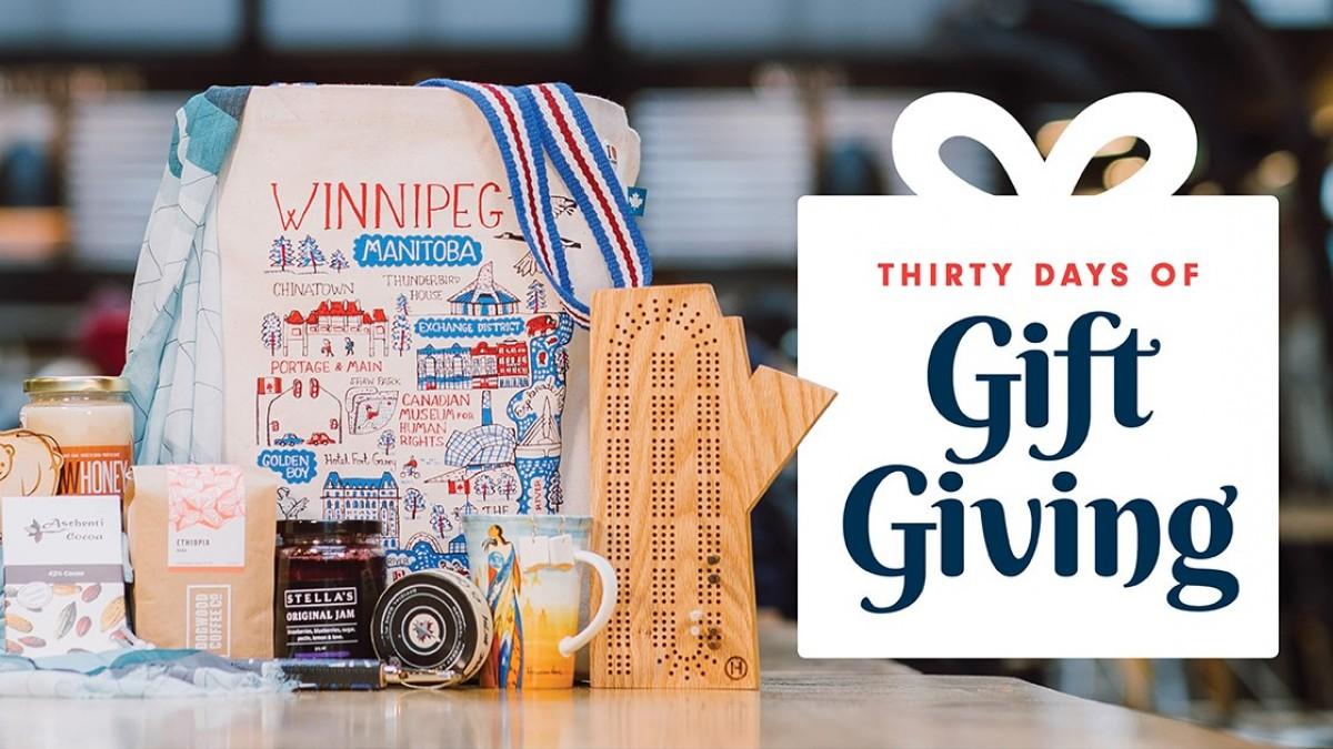 Tourism Winnipeg's 30 Days of Gift Giving