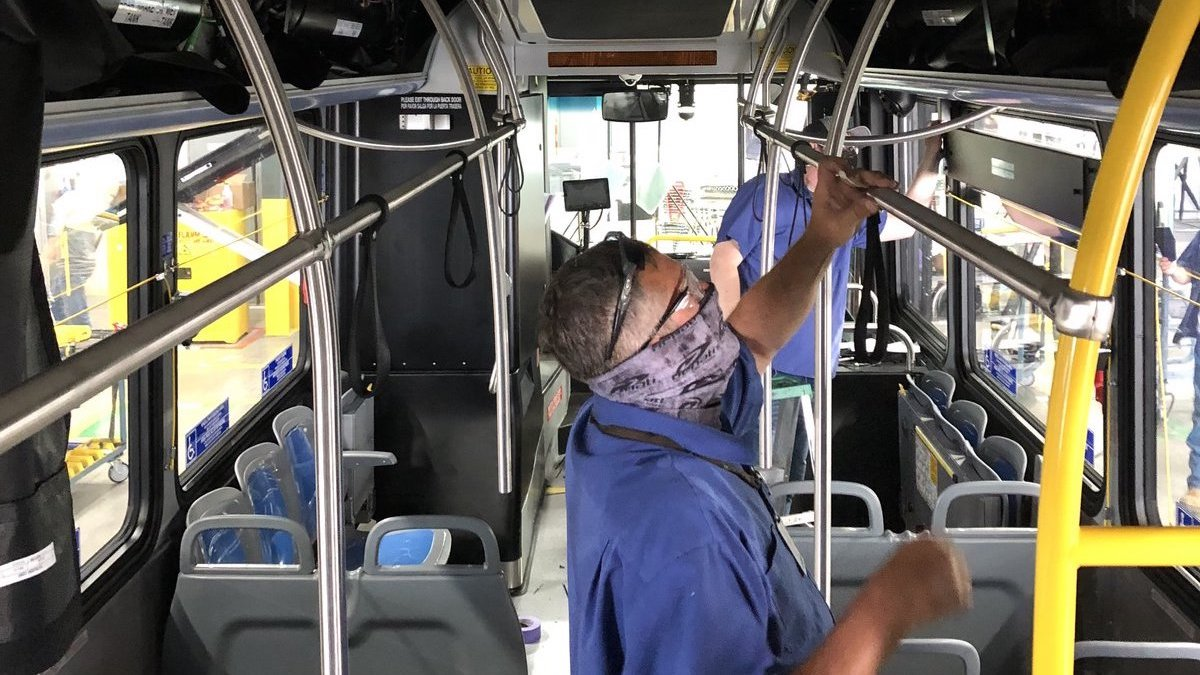 Change is in the air for bus safety