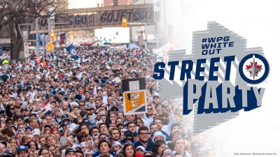 Winnipeg Ready to Celebrate During Round Two of Jets Playoffs Hockey